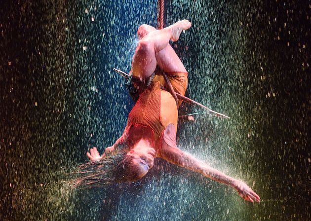 Le Cirque du Soleil à l'abri de ses
