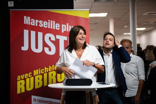 La cheffe de file du Printemps marseillais Michèle