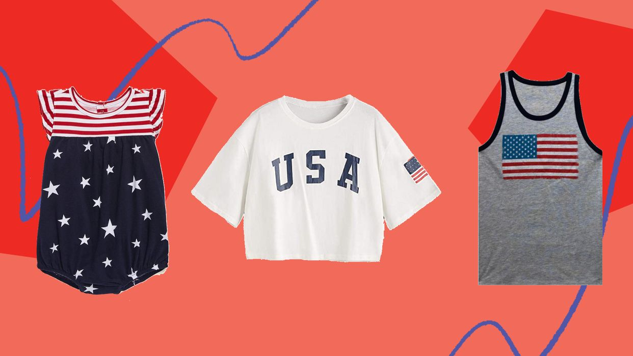 We Found 4th Of July Shirts For The Whole Family