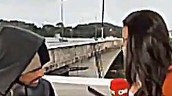 Atracan a una periodista de la 'CNN' en pleno