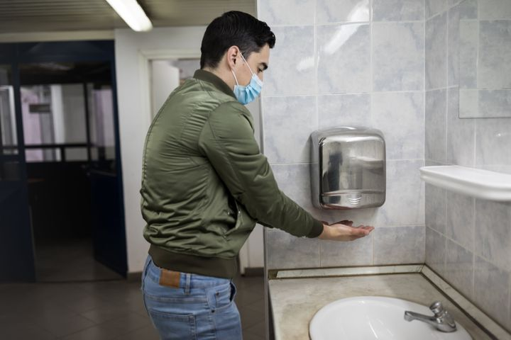 Air dryers may not be the safest way to dry your hands during the coronavirus pandemic, health experts said.
