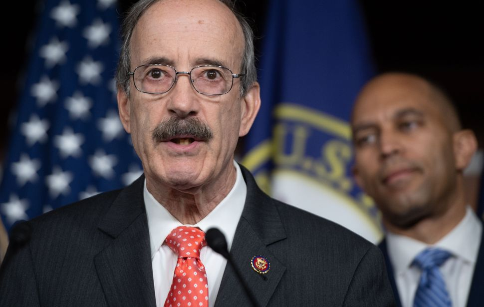 Justice Democrats identified Rep. Eliot Engel (D-N.Y.) as a ripe target because of, among other things, his district's racial