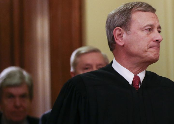 Chief Justice John Roberts has sided with the majority in a number of cases outraging conservatives in 2020.