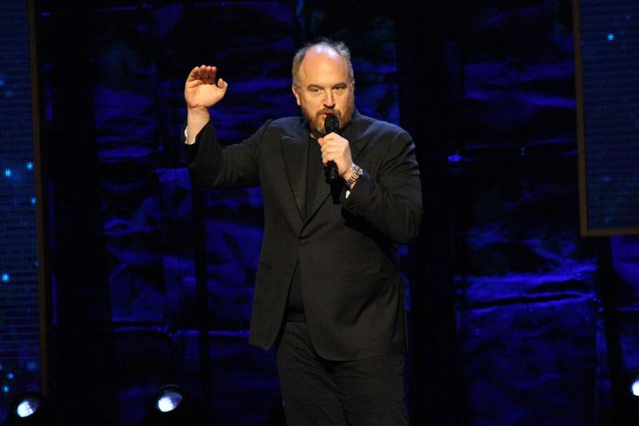 Louis C.K. attends the 2015 Comedy Central's 'Night of Too Many Stars: America Comes Together For Autism Programs' on February 28, 2015 in New York City.