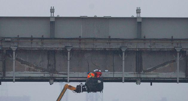 Les travaux de déconstruction seront réalisés «à l'intérieur...
