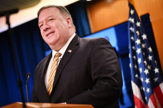 (자료사진) 마이크 폼페이오 미국 국무장관은 홍콩에 미국산 국방 장비 수출을 중단할 것이라고