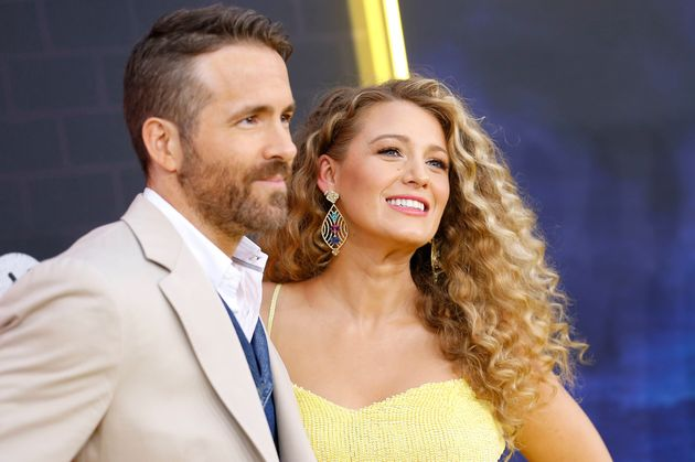 Ryan Reynolds and Blake Lively attend the U.S. premiere of