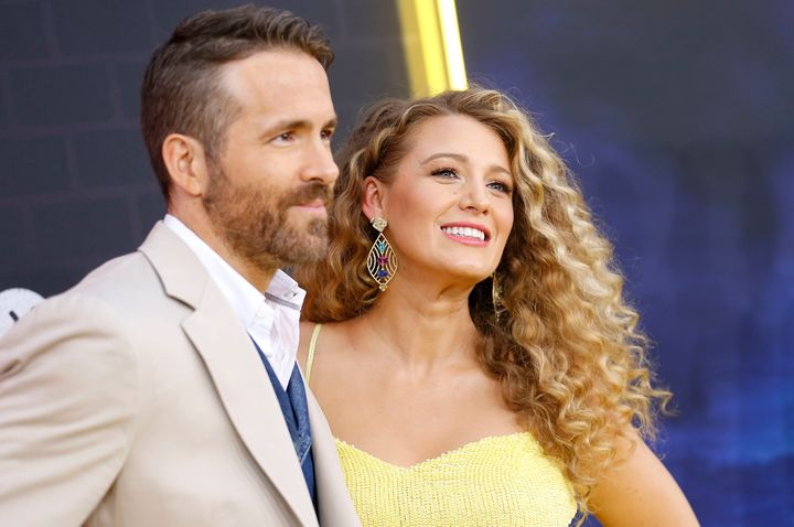 """Ryan Reynolds and Blake Lively attend the U.S. premiere of """"Pokemon Detective Pikachu"""" in New York City."""