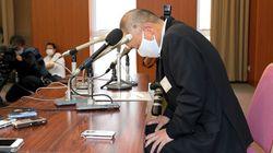 安芸高田市の児玉浩市長が辞意表明。現金受領を一転して認めて丸刈りにしていた。