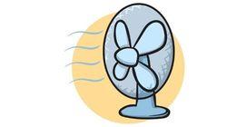 El truco de la botella para que el aire del ventilador salga