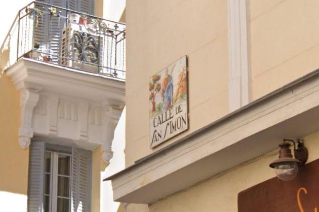Calle de San Simón en