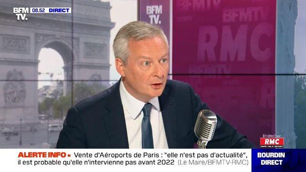 Bruno Le Maire n'exclut pas la construction de nouveaux EPR en