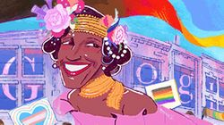 La célèbre militante trans Marsha P. Johnson à l'honneur sur