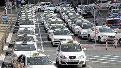 Una 'marea' de taxistas inunda Madrid para exigir al Ayuntamiento una
