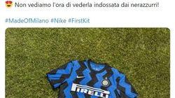 L'Inter presenta la nuova maglia a zig zag e i tifosi si scatenano: