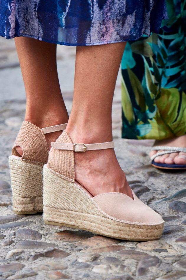 Los pies de Letizia en