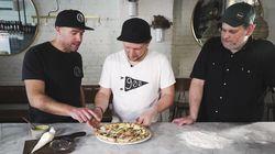 Une pizza montréalaise et réconfortante pour la bonne