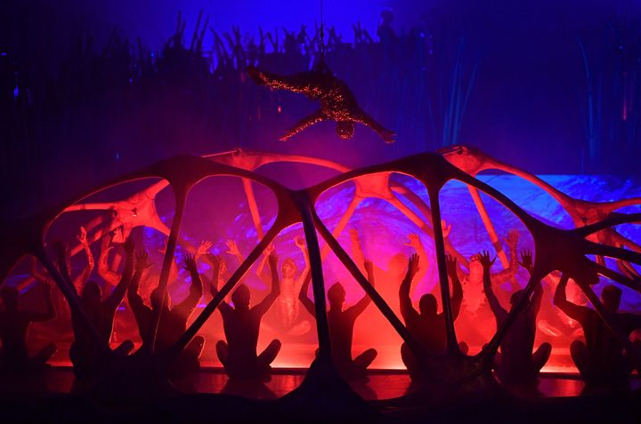 Cirque du Soleil puts on an acrobatic show in Munich on Feb. 13, 2020. The company is looking for a new owner who will keep it headquartered in Montreal.