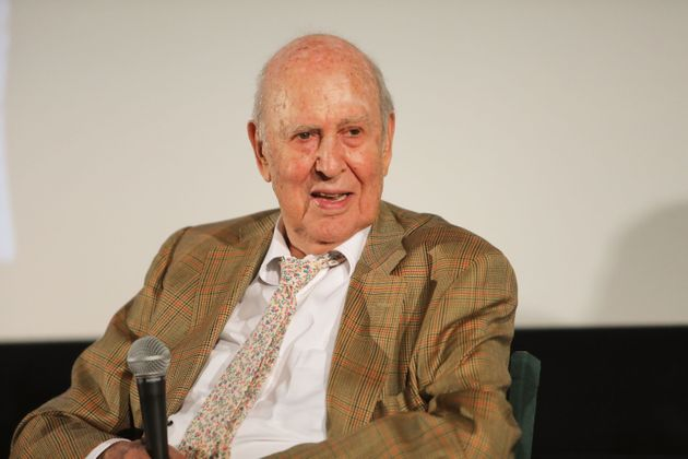 Carl Reiner pictured in