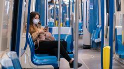 Le port du masque obligatoire dans le transport en commun à compter du 13
