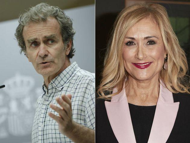 Fernando Simón y Cristina