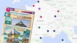 Voici les 18 sites qui seront rénovés par le loto du patrimoine