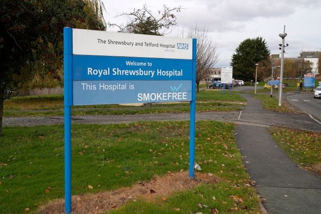 The Royal Shrewsbury Hospital is one of the sites run by Shrewsbury and Telford NHS