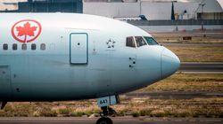 Air Canada suspend indéfiniment 30 lignes