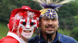 Les Autochtones n'ont pas trop le coeur à la fête du