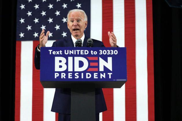 Ce 30 juin, l'ancien vice-président de Barack Obama et candidat à la Maison Blanche Joe...