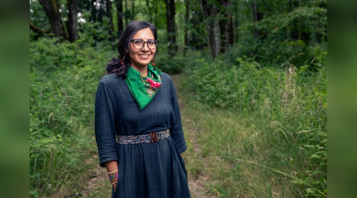 Eriel Tchekwie Deranger said Canada's history of settler colonialism can't be erased.