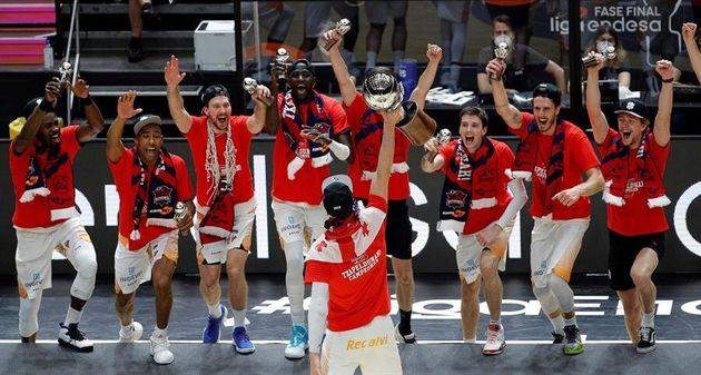 El Baskonia gana la Liga Endesa