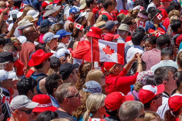 Last year's Canada Day celebrations at Parliament Hill drew a huge crowd.