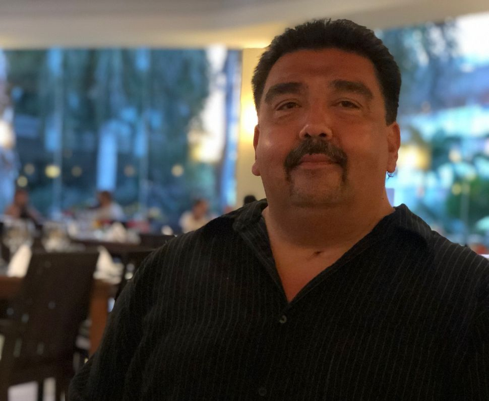 Randy Narvaez on his birthday, July 30, 2019. Narvaez died in May 2020 from the coronavirus.