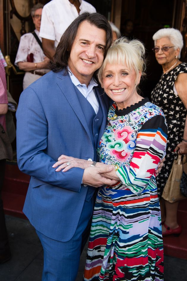 Scott and Dame Barbara pictured in
