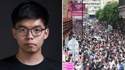 A Hong Kong 300 arresti. Joshua Wong: