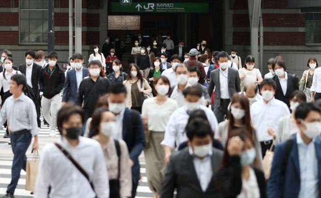 新規感染が増える都内には、人出が戻りつつある=5月26日午前、東京都千代田区