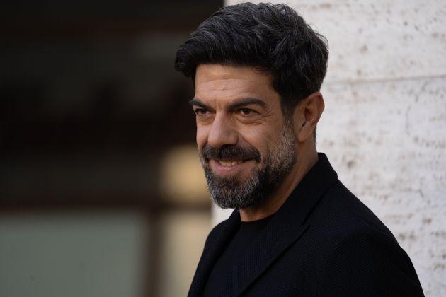"""Pierfrancesco Favino attends """"Gli Anni Più Belli"""" photocall on January 30, 2020 in Rome, Italy..."""
