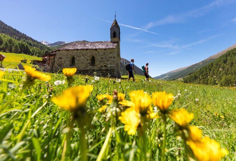 Escursionie Val di Mazia