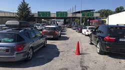 Με αμείωτους ρυθμούς η οδική άφιξη Βαλκάνιων τουριστών στον