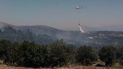 Μεγάλη πυρκαγιά στους Βαβύλους Χίου - Σε ετοιμότητα για εκκένωση δύο
