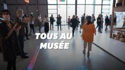 Le centre Pompidou rouvre ses portes sous les