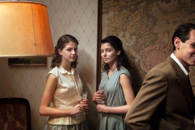 Margherita Mazzuco (Lenù) et Gaia Girace (Lila) incarnent les deux protagonistes à