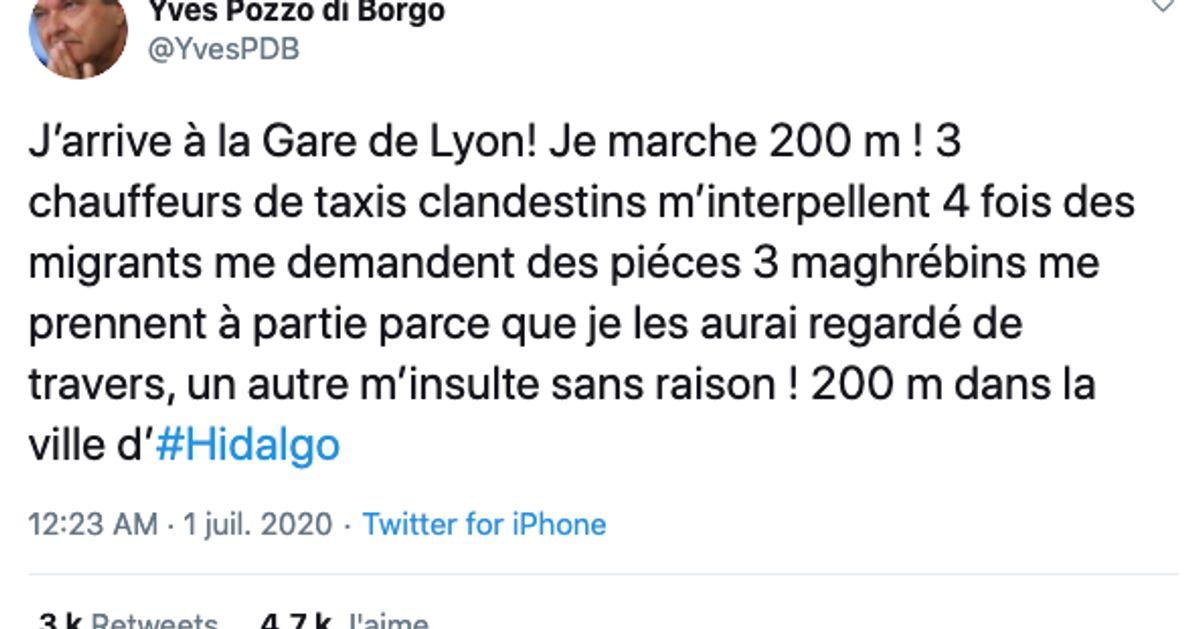 Cet ex-sénateur dépeint une vision alarmiste de la Gare de Lyon, il n'aurait pas dû
