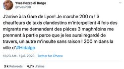 Cet ex-sénateur dépeint une vision alarmiste de la Gare de Lyon, il n'aurait pas
