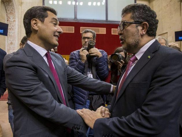 Juanma Moreno y Francisco