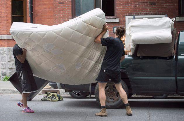 La journée du déménagement au Québec est un peu plus compliquée cette