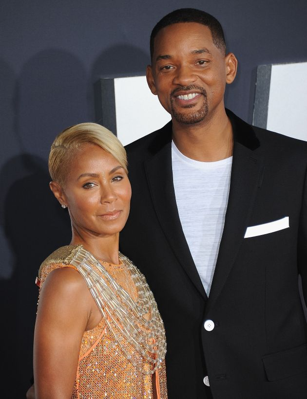 Jada Pinkett Smith and Will Smith arrive at the premiere of
