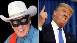 Trump Mocked For Claiming His Face Mask Makes Him Look Like 'Lone