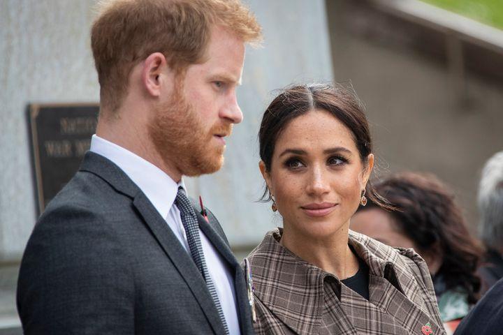 Prince Harry and Meghan.